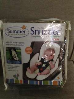 Snuzzler head and body support
