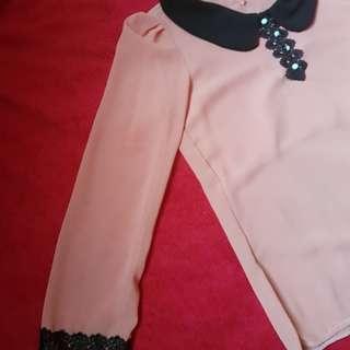 Korean Collared blouse