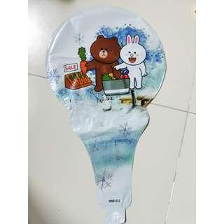 Brownie aluminium foil balloon