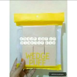 The face shop wedge sponge share