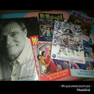Clearance sale QYOP!!!  Mr midnight book set!!!