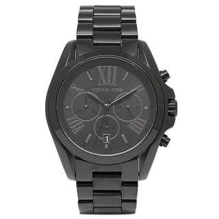 NEW Michael Kors Black Bradshaw Watch MK5550 Unisex Watch