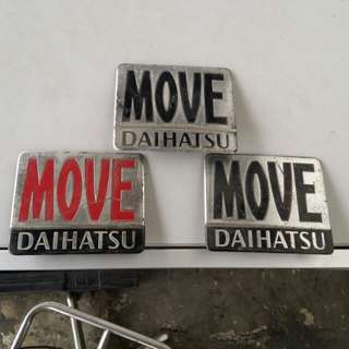 EMBLEM DAIHATSU MOVE