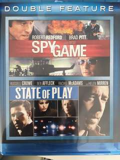 Spy game blue ray