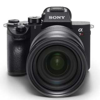 Sony A7R3 body - mint condition