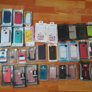 New Set of case for Iphones and Samsung
