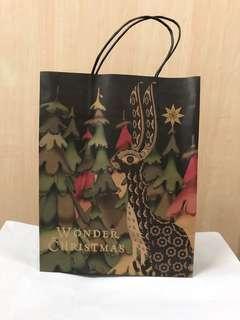 Isetan Christmas Paper Bag