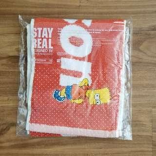 BNWT Bart Simpson towel