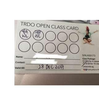 TRDO Dance Class Pack