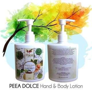 PEEA DOLCE HAND & BODY LOTION