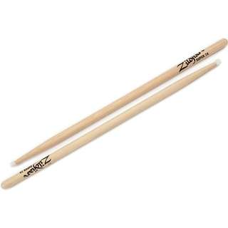 Zildjian S7ANN Super 7A Hickory Drumsticks with Nylon Round Tips