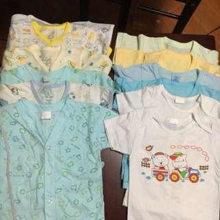 Sale!!! Bundle 12 pcs babies shirt! 😊