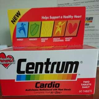 Centrum cardio multivitamin with plant sterols