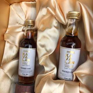 Kavalan酒辦 (Single malt Sherry oak)50ml($100一支)