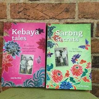 Peranakan Book - Kebaya And Sarong Secrets
