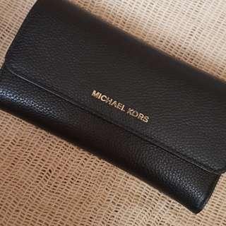Michael Kors Trifold Wallet Black katespadexfossilxlv