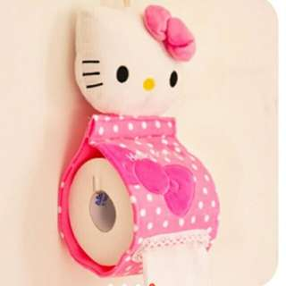 cute helli kitty tissue paper holder
