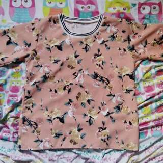 Oversized Floral Shirt