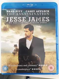 The assassination of Jesse James blueray