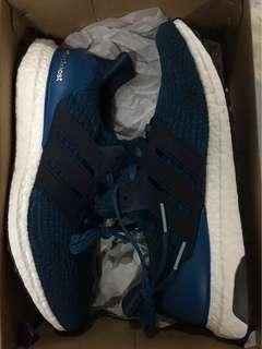 Adidas ultraboost 3 blue petrol size 10