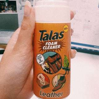 Talas Cleansing Foam for Leather