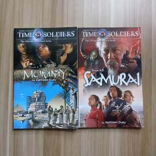 Robert Gould's Time Soldiers, The Ultimate Adventure Series