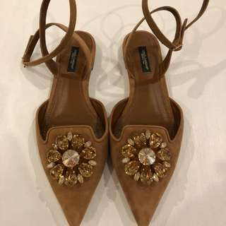 Dolce and Gabbana Pumps Tan
