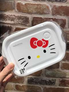 Hello Kitty Lunch Box container Dual cap