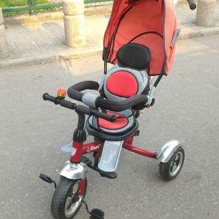 兒童豪華三輪車
