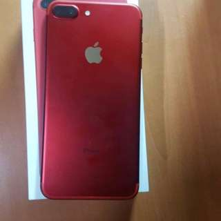 Iphone 7 plus 128 gb Red