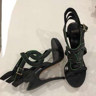 Bally Strappy cut out high heels