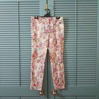 Pastel Floral Trousers