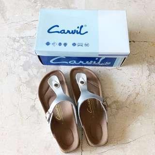 CARVIL SILVER SANDAL