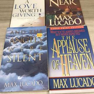 Max Lucado - Christian devotional books