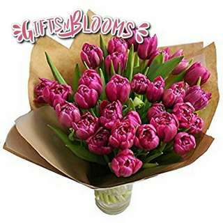 Fresh Flower Bouquet Surprise for Special Anniversary Birthday Gift V110 - EXWVG