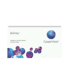 Biofinity monthly disposable lens