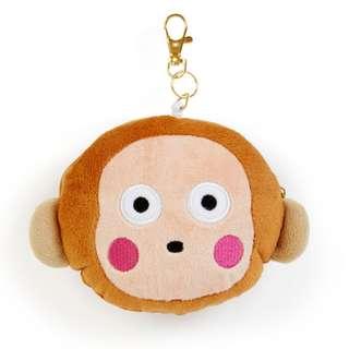 Japan Sanrio Monkichi Face Pass Case (Natsukashi Series)