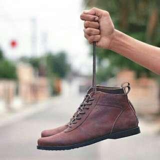 Sepatu kulit Altum shoes moer