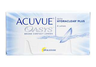 Acuvue oasys bi-weekly disposable lens