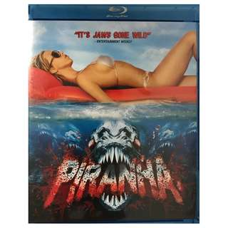BLU RAY - PIRANHA (ORIGINAL USA IMPORT)