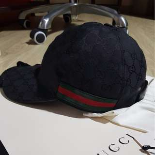 Gucci Black Baseball Cap
