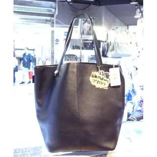 Mulberry Black Leather Kite Oversize Shopping Shoulder Tote Hand Bag 黑色 牛皮 皮革 超大 加大碼 手挽袋 手袋 肩袋 購物袋 袋
