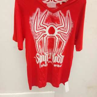 T shirt spyder kidd red