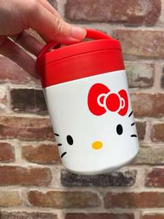 Hello Kitty Stainless Steel Pot Lunch Box Container Flask