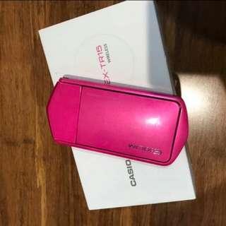 Casio TR15 vivid pink