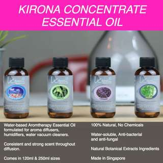 AROMATHERAPY ESSENTIAL OILS. For Aroma Diffuser, Humidifier, Air Purifier. More than 50 Scents to choose from. Lavender, Lemongrass, Eucalyptus, Tea Tree, Calming, Sea Breeze, etc.