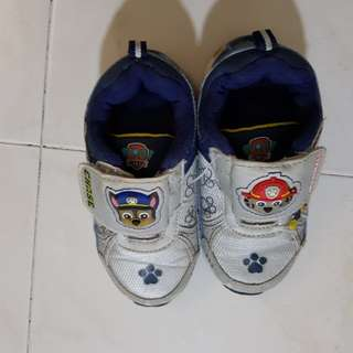 Paw Patrol Shoes for 3T Boy