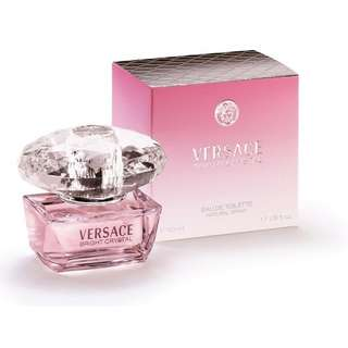 Versace Bright Crystal EDT Women (30ml/90ml/200ml/Tester/Giftset) Pink