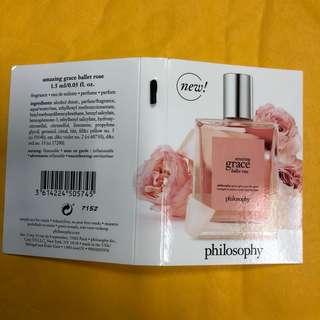 philosophy amazing grace ballet rose eau de toilette 有多支