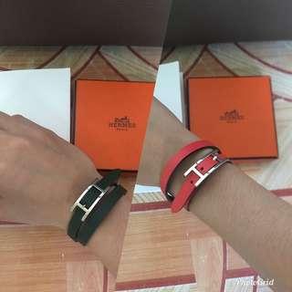Hermes Bracelet Behapi double reversible